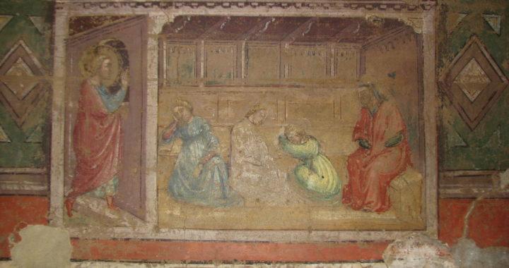"""Pitture Murali del Convento detto """"Il Portico"""" di Galluzzo"""