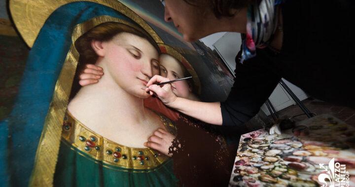 """Dipinto """"Madonna con Bambino"""" della Cattedrale di Santo Stefano a Scutari"""