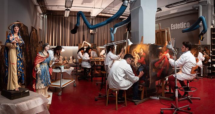 Laboratori di Restauro – Sede di Via delle Casine, 21r – Firenze